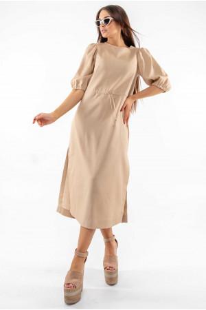 Сукня «Глоу» бежевого кольору