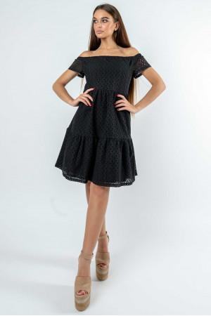 Платье «Земфира» черного цвета