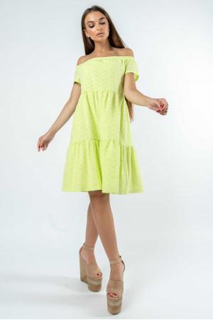 Платье «Земфира» цвета лайм