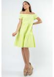 Сукня «Земфіра» кольору лайм