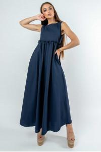 Сукня «Ліліан» кольору чорниці
