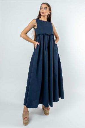 Платье «Лилиан» цвета черники