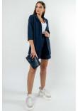 Піджак «Кріспі-льон» кольору чорниці