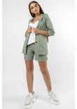 Піджак «Кріспі-льон» оливкового кольору