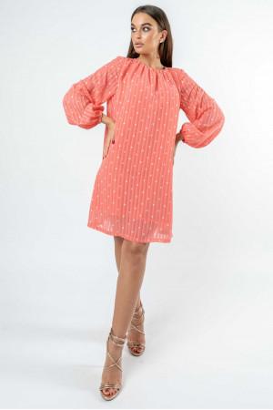 Сукня «Даная» коралового кольору