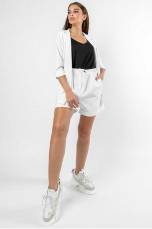 Костюм «Кріспі-льон-шорти» білого кольору