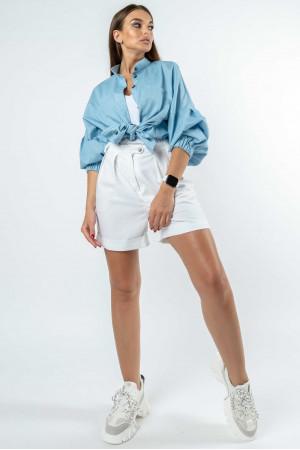 Рубашка «Шарлони» голубого цвета