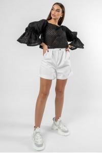 Блуза «Агата» черного цвета
