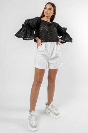 Блуза «Агата» чорного кольору