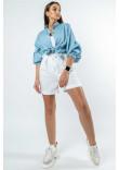 Костюм «Шарлоні-Кріспі-льон» біло-блакитного кольору