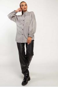 Сорочка «Шарлоні» сірого кольору