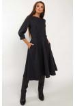 Сукня «Делла» темно-синього кольору