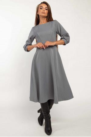 Платье «Делла» серого цвета