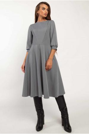 Сукня «Делла» сірого кольору
