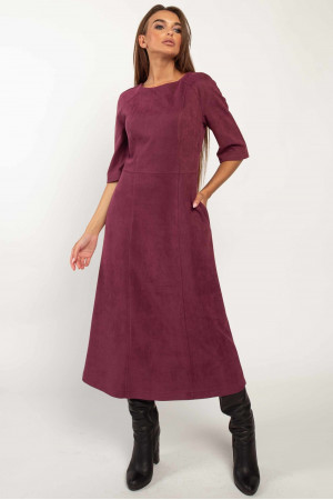 Платье «Аделайн» фиолетового цвета