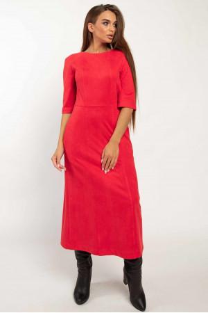 Платье «Аделайн» красного цвета