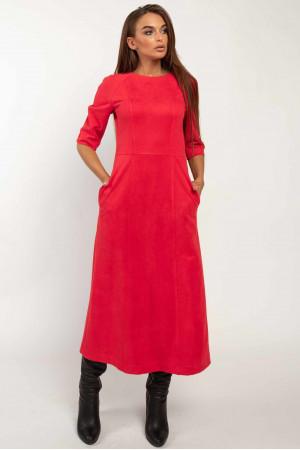 Сукня «Аделайн» червоного кольору