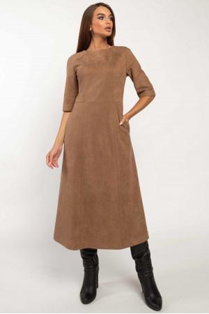 Сукня «Аделайн» кольору капучино