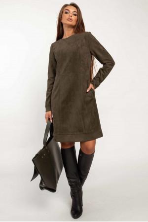 Платье «Дидиан» цвета хаки