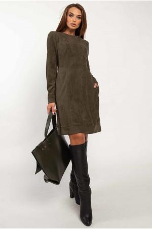 Сукня «Дідіан» кольору хакі
