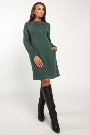 Платье «Дидиан» изумрудного цвета