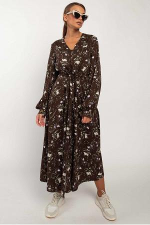 Сукня «Нессі» шоколадного кольору