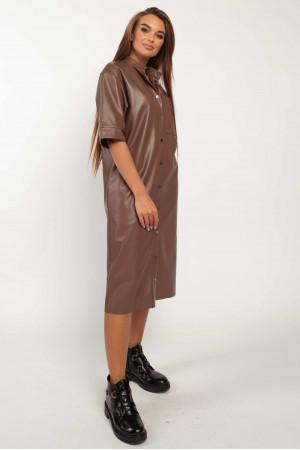 Платье «Джоди» цвета капучино