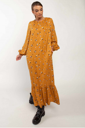Сукня «Данія» гірчичного кольору