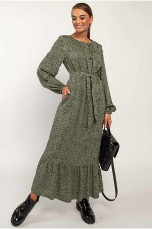 Сукня «Данія» кольору хакі