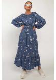 Сукня «Данія» синього кольору