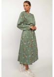 Сукня «Аглая» зеленого кольору