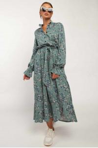 Платье «Флорет» цвета бриз