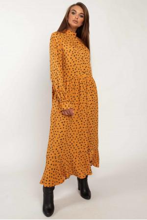 Сукня «Флорет» гірчичного кольору