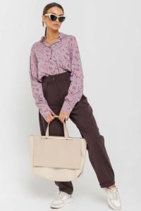 Блуза «Ліора» лілового кольору