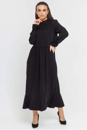 Сукня «Флорет» чорного кольору