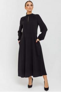 Платье «Белинда» черного цвета