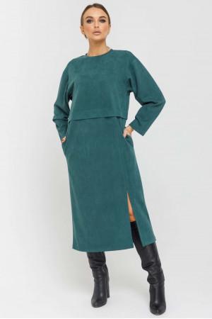 Сукня «Бонні» смарагдового кольору
