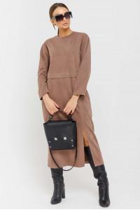 Платье «Бонни» цвета капучино