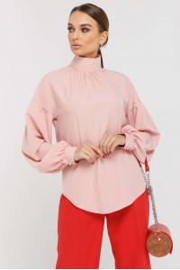 Блуза «Эмира» цвета пудры