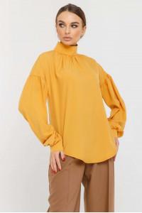 Блуза «Эмира» горчичного цвета