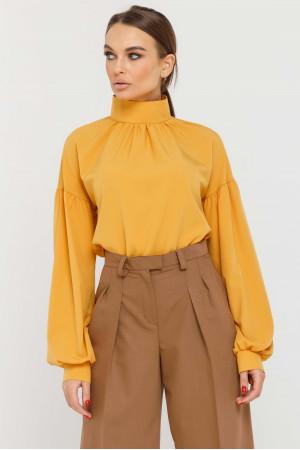 Блуза «Еміра» гірчичного кольору