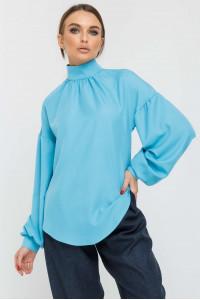 Блуза «Еміра» блакитного кольору