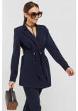 Піджак «Скарлетт» темно-синього кольору