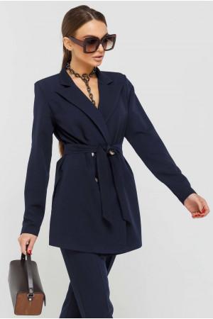 Пиджак «Скарлетт» темно-синего цвета