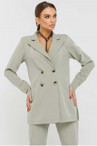 Пиджак «Скарлетт» оливкового цвета
