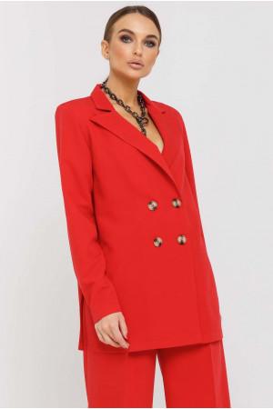 Пиджак «Скарлетт» красного цвета