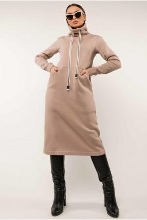 Платье «Катарина» бежевого цвета