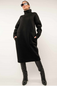 Платье «Беверли» черного цвета