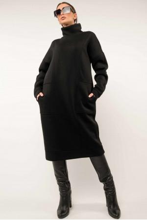 Сукня «Беверлі» чорного кольору