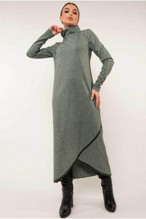 Сукня «Бетані» кольору бриз в клітинку